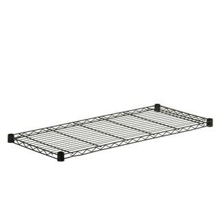 350-pound 18x42 Black Steel Shelf