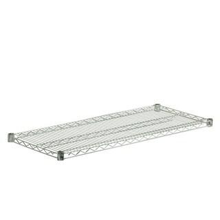 Steel Shelf 800-pound Chrome 16x36