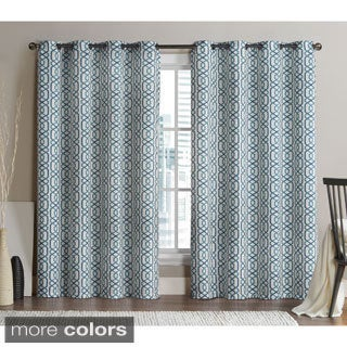VCNY Alexander Blackout Printed Panel Pair