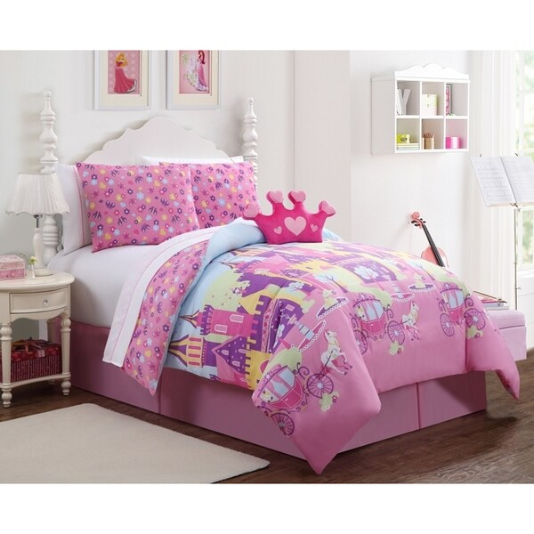 VCNY Princess Bed in a Bag Comforter Set