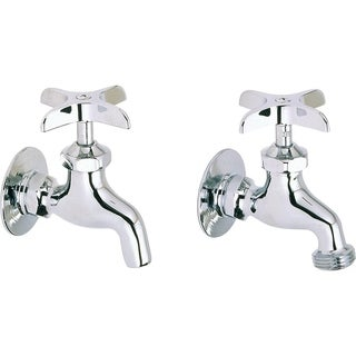 Elkay Chrome (1 Pair) Kitchen Faucet