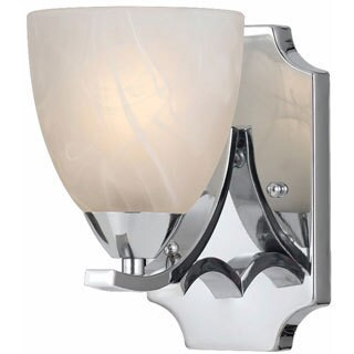 Lumenno Transitional 1-light Chrome Wall Sconce