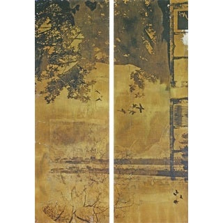 Marmont Hill 'Vernal Equinox Diptych' Canvas Art - Multi-color