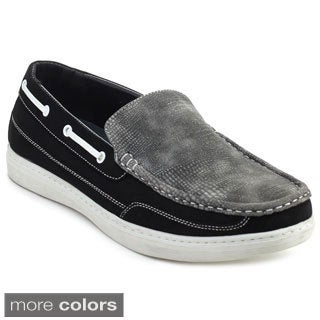 Alessio M829L Men's Authentic Original Boat Loafers