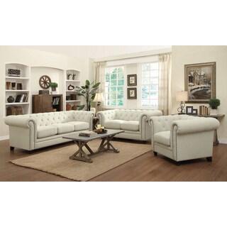 The Gray Barn Tasia Linen 3-piece Furniture Set