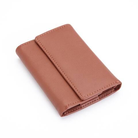 Royce Black or Tan Leather Valet Key Fob