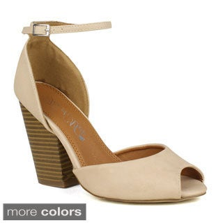 TOI ET MOI Women's Risotto-01 D'orsay upper Peep-toe High Heel