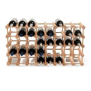 Wine Enthusiast Natural Modular 40-Bottle Wine Rack