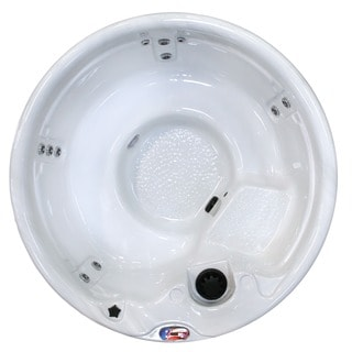 5-person 11-jet Round with Multicolor Spa Light