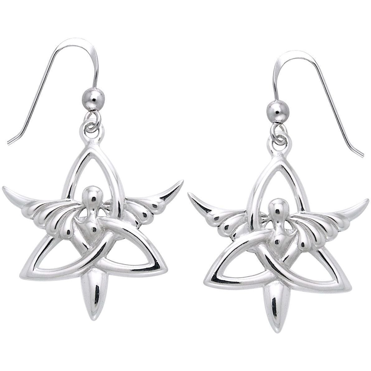 Carolina Glamour Collection Sterling Silver Trinity Angel...