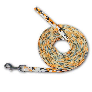 Laso Classic 20-foot Orange Camo Leash