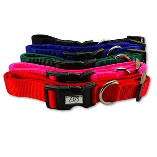 Laso Nylon Adjustable Red Collar