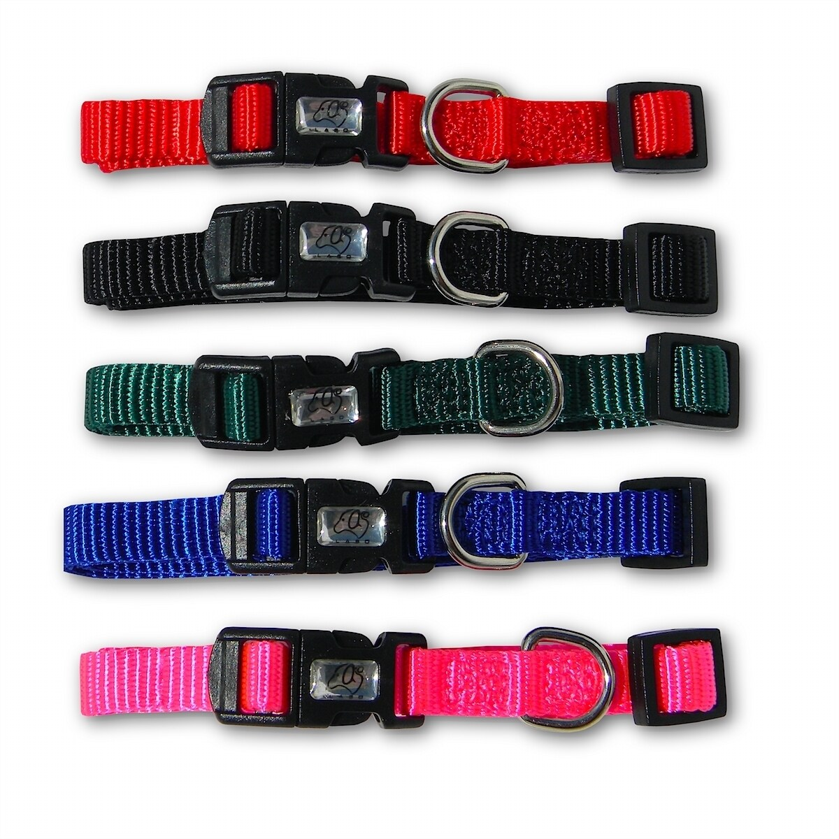 Laso Nylon Adjustable Pink Collar (Laso Nylon Adjustable ...