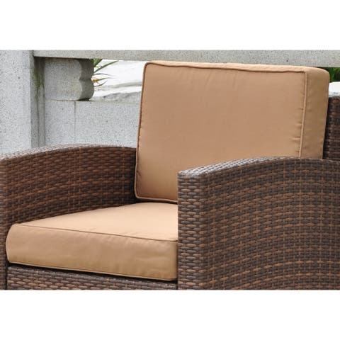 International Caravan Corded Replacement Cushions for Barcelona Chair (Set of 2)