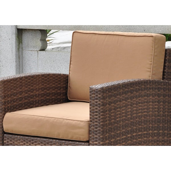 International caravan corded replacement cushions for barcelona chair set of 2 free shipping Home trends patio furniture replacement cushions