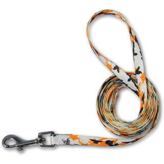 Laso Classic 6-foot Orange Camo Leash