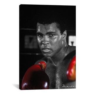 iCanvas Muhammad Ali in Training Canvas Print Wall Art