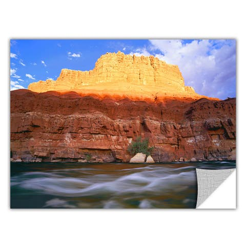 Dean Uhlinger Marble Canyon Sunset, Art Appeelz Removable Wall Art Graphic