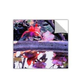 Dean Uhlinger Birdbath, Art Appeelz Removable Wall Art Graphic