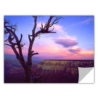Dean Uhlinger South Rim Moon, Art Appeelz Removable Wall Art Graphic