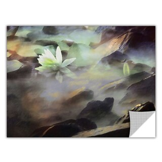 Dean Uhlinger Lily In Rocks, Art Appeelz Removable Wall Art Graphic