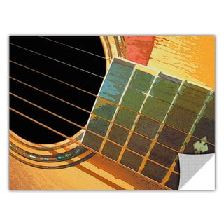 Dean Uhlinger Impresion De La Guitarra, Art Appeelz Removable Wall Art Graphic