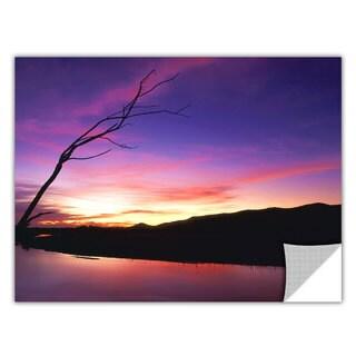 Dean Uhlinger Gila River Sunset, Art Appeelz Removable Wall Art Graphic