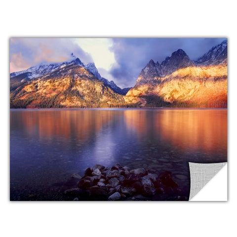 Dean Uhlinger Jenny Lake Sunrise, Art Appeelz Removable Wall Art Graphic