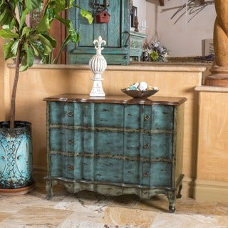 Christopher Knight Home Rainier 3-Drawer Wood Cabinet