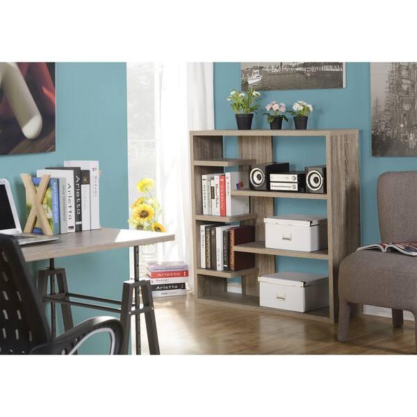 Homestar 6-shelf Storage Bookcase