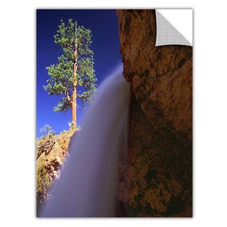 Dean Uhlinger Creek Fall At Bryce, Art Appeelz Removable Wall Art Graphic