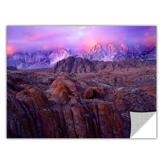 Dean Uhlinger Eastern Sierra Sunrise, Art Appeelz Removable Wall Art Graphic