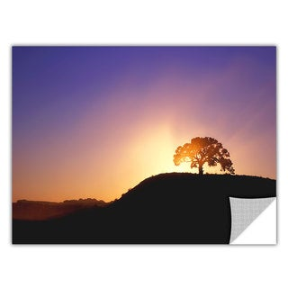 Dean Uhlinger Dust Cloud Sunset, Art Appeelz Removable Wall Art Graphic