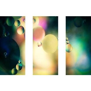 Marmont Hill 'Speak to Me Triptych' Canvas Art