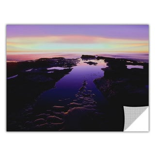 Dean Uhlinger Low Tide Afterglow, Art Appeelz Removable Wall Art Graphic