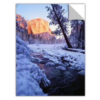 Dean Uhlinger Winter Paradise, Art Appeelz Removable Wall Art Graphic