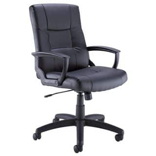 Bush Black Leather Managers Chair|https://ak1.ostkcdn.com/images/products/10063157/P17208029.jpg?impolicy=medium