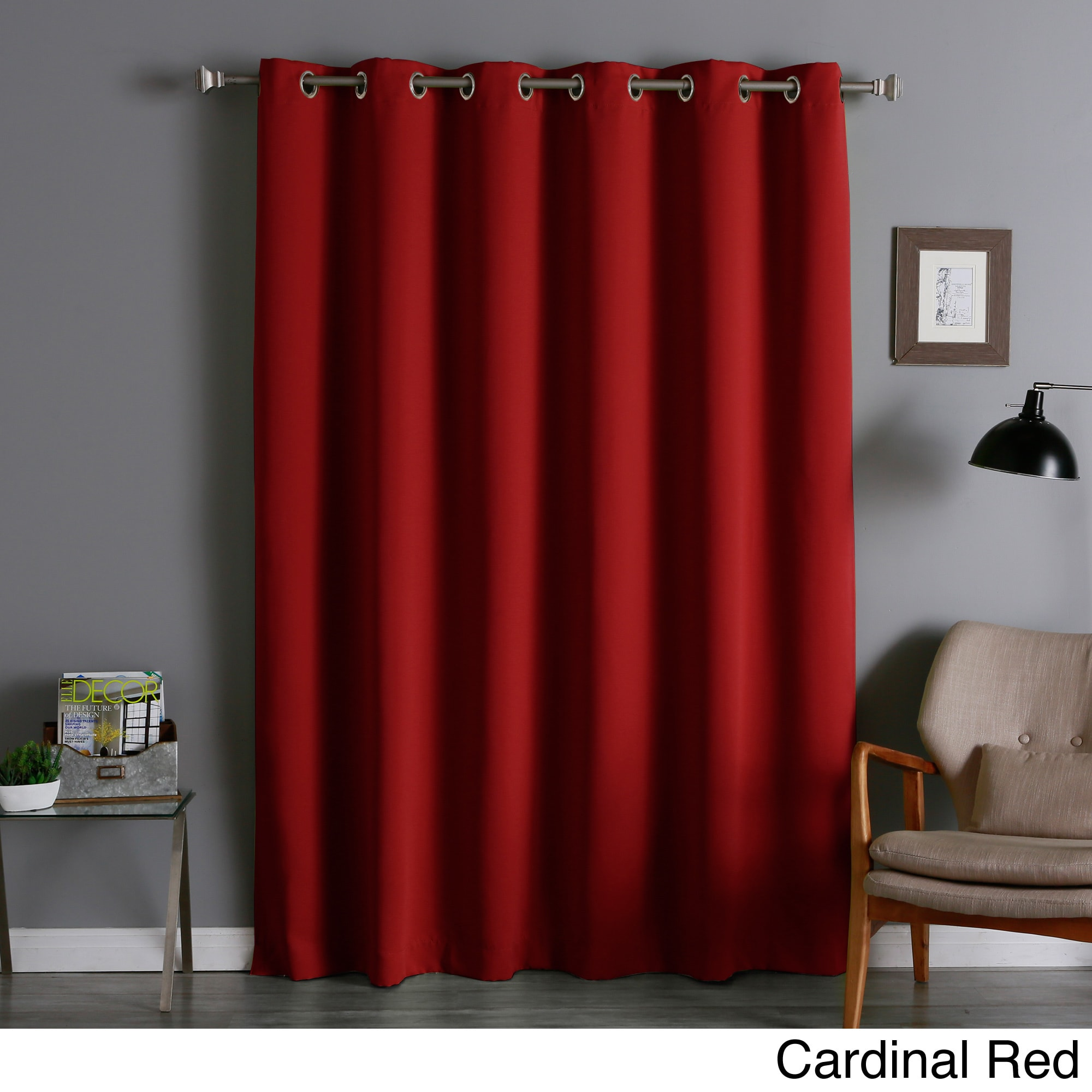 Aurora Home Extra Wide Thermal Insulated 84 Inch Blackout Curtain Panel Ebay