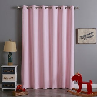 Aurora Home Wide Thermal Insulated 96-inch Blackout Curtain Panel - 80 x 95