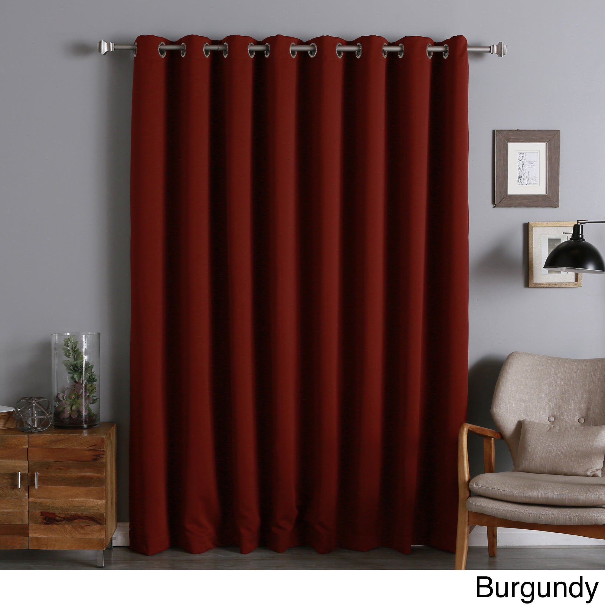 Aurora Home Extra Width Thermal Insulated 96 Inch Blackout