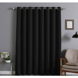 Aurora Home Extra Width Thermal Insulated 96-inch Blackout Curtain Panel - 100 x 96