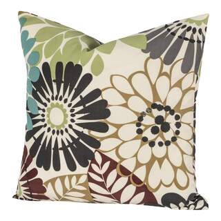 Blooming Bulb Harvest Throw Pillow