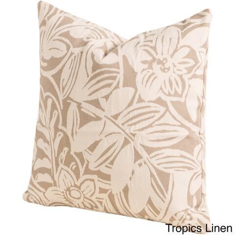 Tropics Indoor/ Outdoor Throw Pillow