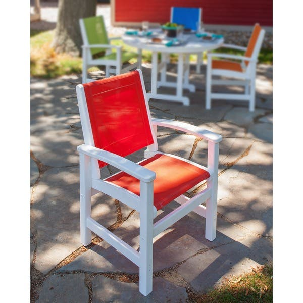 Cool Shop Polywood Coastal Dining Chair Free Shipping Today Dailytribune Chair Design For Home Dailytribuneorg