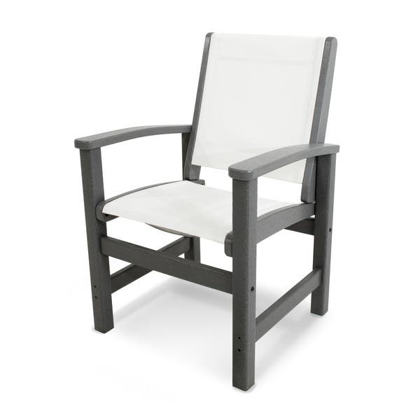 Terrific Shop Polywood Coastal Dining Chair Free Shipping Today Dailytribune Chair Design For Home Dailytribuneorg