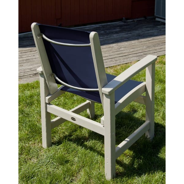 Groovy Shop Polywood Coastal Dining Chair Free Shipping Today Dailytribune Chair Design For Home Dailytribuneorg