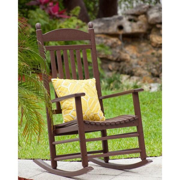 Lawn Chair 40 Oz: POLYWOOD Jefferson Rocker