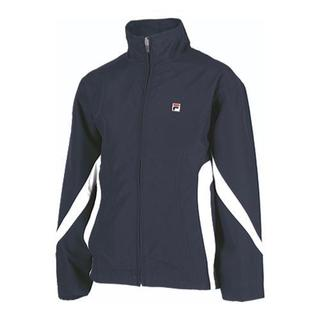 Boys' Fila Colorblocked Jacket Peacoat/White