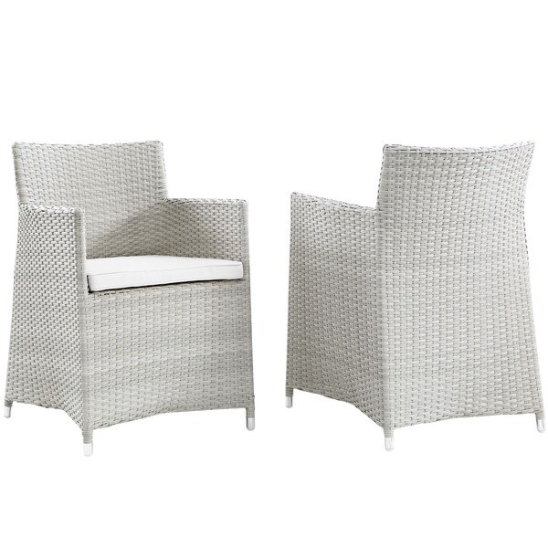 Juncture Armchair Outdoor Patio Wicker Chairs (Set of 2)