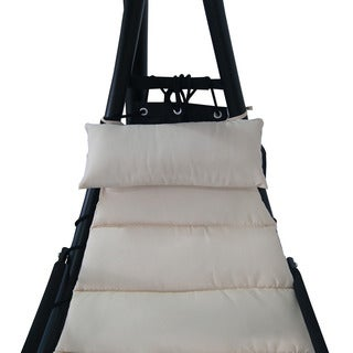 Island Retreat Hanging Lounge w/ Shade Canopy (Option: Beige)|https://ak1.ostkcdn.com/images/products/10064534/P17209240.jpg?_ostk_perf_=percv&impolicy=medium